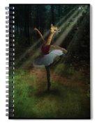 Dancing Giraffe Spiral Notebook