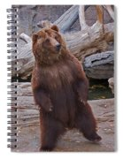 Dancing Grizzly Spiral Notebook