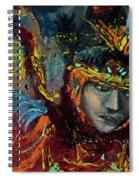Dancing In Color Spiral Notebook