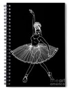 Dancing In The Dark Spiral Notebook