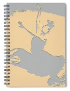 Dancing In The Moon Light Spiral Notebook