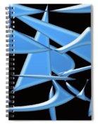 Dancing In The Ocean Spiral Notebook