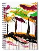 Dancing In The Rain, Vol. 1 Spiral Notebook
