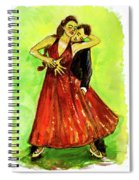 Dancing In The Showlights Spiral Notebook