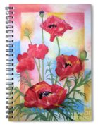 Dancing In The Wind Spiral Notebook