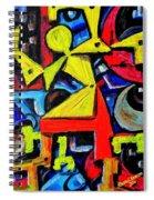 Dancing Naive #2 Spiral Notebook