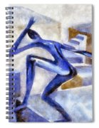 Dancing Off The Edge Of The World Spiral Notebook