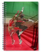 Dancing On The Stairs Spiral Notebook