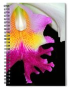 Dancing Orchid Spiral Notebook