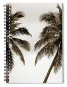 Dancing Palms Spiral Notebook