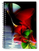 Dancing Polynomials Spiral Notebook