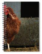 Dancing Rooster Spiral Notebook
