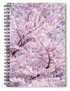 Dancing Sakura Haiku Spiral Notebook