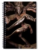 Dancing Shiva Spiral Notebook