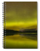 Dancing Skies Over Edith Lake Spiral Notebook