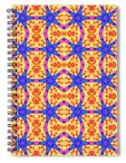 Dancing Stars Spiral Notebook