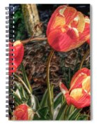 Dancing Tulips Spiral Notebook