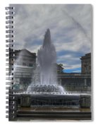 Dancing Waters Spiral Notebook