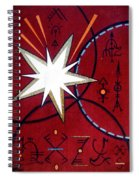 Magical Star And Symbols. Part 1 Spiral Notebook