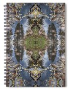 Dancing With Aspen Leaves Spiral Notebook