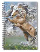 Dancing With Butterflies Spiral Notebook