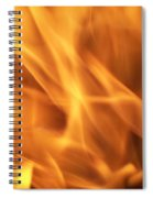 Dancing With Fire Spiral Notebook