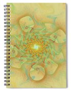 Dancing With The Spirits Spiral Notebook