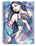 Dancing With The Waves Spiral Notebook