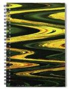 Dandelion Abstract Spiral Notebook
