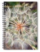 Dandelion Fuzz Spiral Notebook