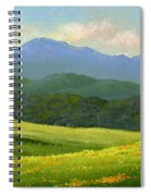 Dandelion Meadows Spiral Notebook