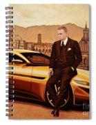 Daniel Craig As James Bond Spiral Notebook