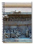 Daniel Webster In The Webster - Hayne Debate Spiral Notebook