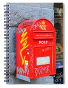 Danish Mailbox Spiral Notebook