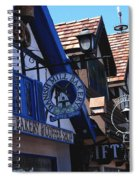 Danish Mill Bakery In Solvang California Spiral Notebook