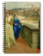 Dante And Beatrice Spiral Notebook