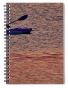 Danvers River Kayaker Spiral Notebook