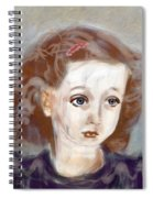 Daphne Spiral Notebook