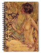 Daphne Spiral Notebook