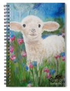 Flying Lamb Productions     Daphne Star In The Tall Grass Spiral Notebook
