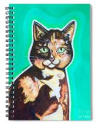 Daphne The Calico Cat Spiral Notebook