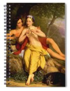 Daphnis And Chloe Spiral Notebook