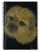 Dapper Dog  Spiral Notebook