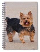 Dapper Dog Spiral Notebook