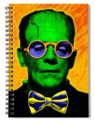 Dapper Monster Spiral Notebook