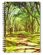 Dappled Spiral Notebook