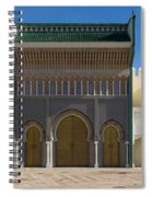 Dar-el-makhzen The Royal Palace Spiral Notebook