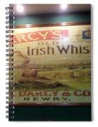 D'arcy's Old Irish Whiskey Spiral Notebook