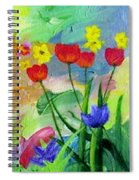 Daria's Flowers Spiral Notebook