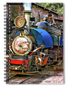 Darjeeling Toy Train Spiral Notebook